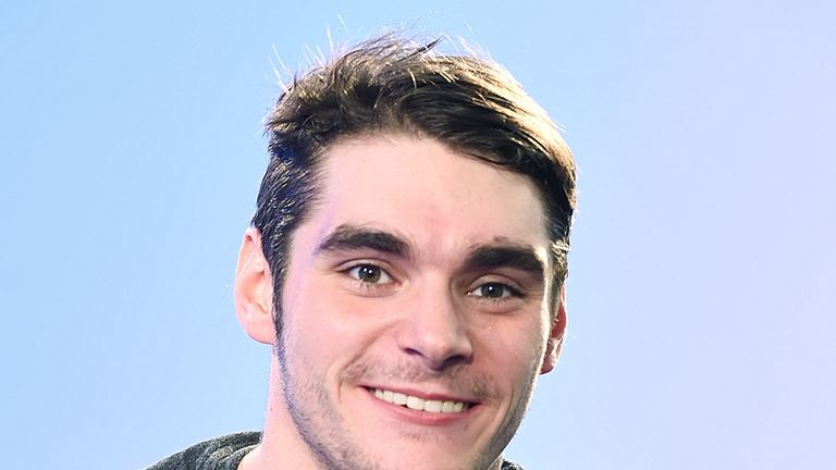 RJ Mitte takes part in the BUILD LDN Series on January 24, 2017 in London, United Kingdom.