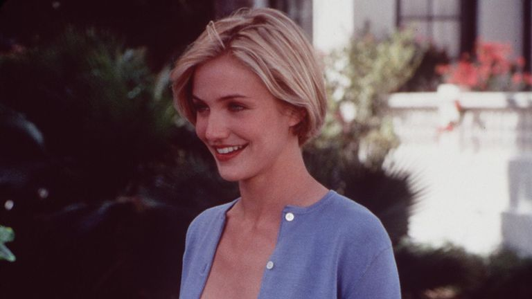 """1998 Cameron Diaz star in """"There's Something about Mary."""""""