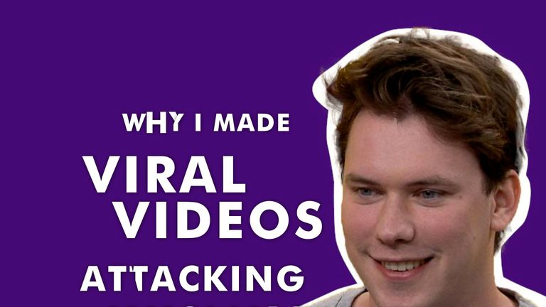 Caolan Robertson reveals why he made videos attacking muslims