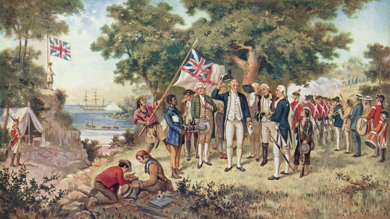 Captain cook new south wales