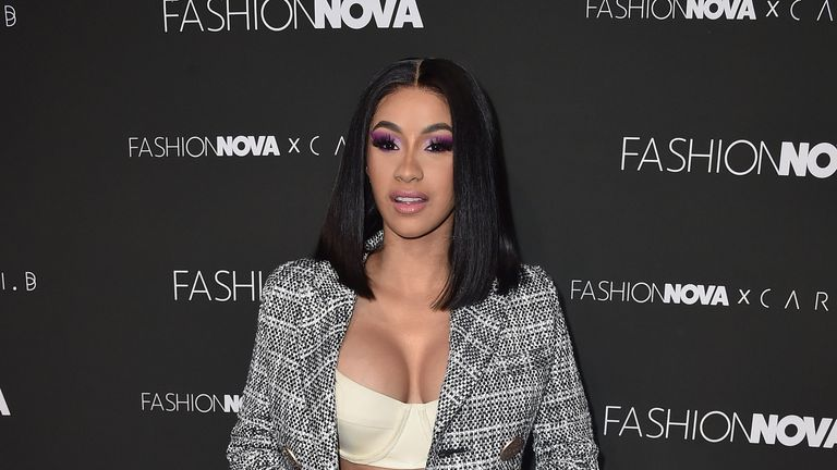The hashtag #CardiB2020 gained traction after her rant