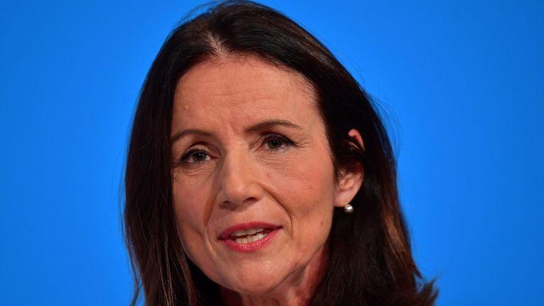 Carolyn Fairbairn, director-general of the CBI