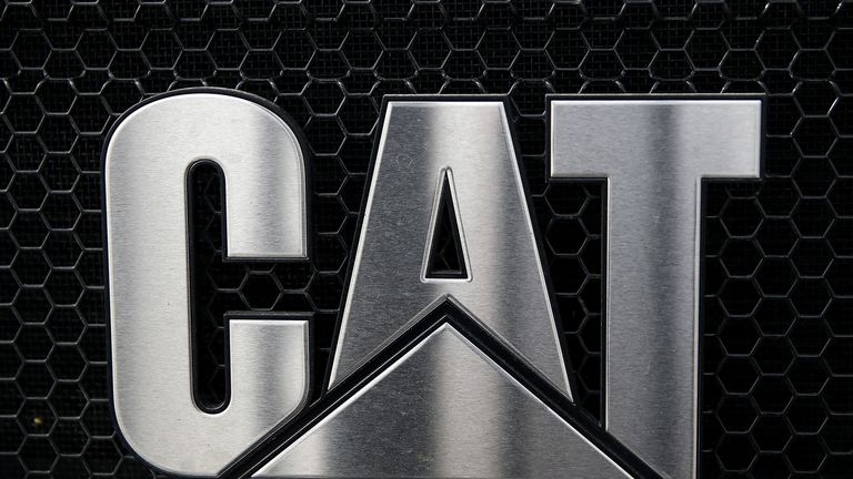 Caterpillar lost almost 20 per cent of its market value in 2018