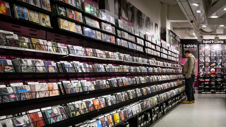 Streaming services have hit the sales of CDs