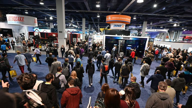 CES is one of the biggest international trade shows in the world
