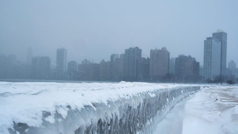 Chicago is set to be colder than Antarctica