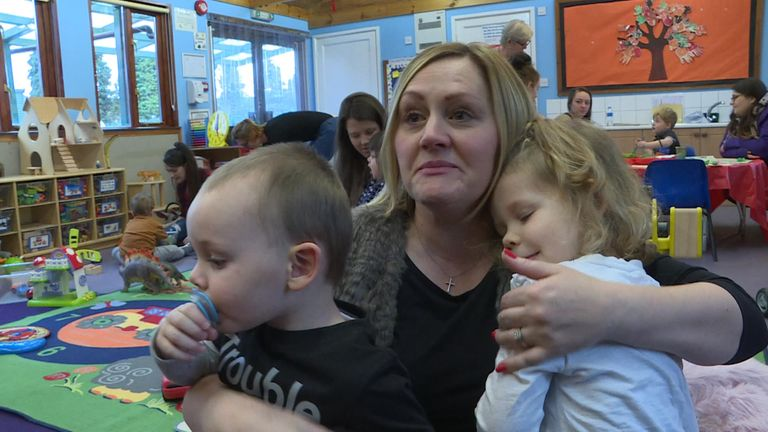 Dozens of children's centres across the country are facing closure
