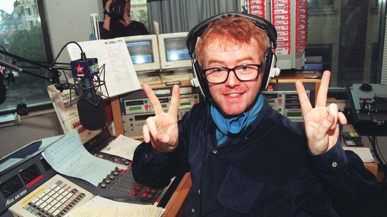In 1997, Chris Evans rocked up for his first Virgin breakfast show with minutes to spare