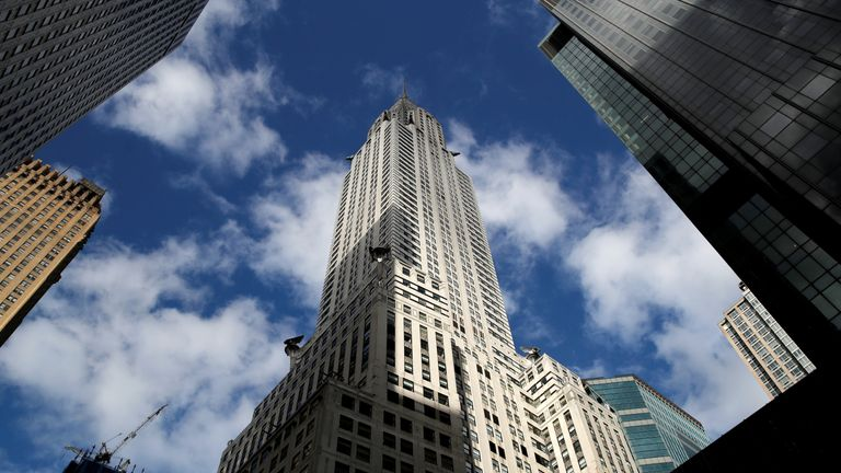 The Chrysler is 77-storeys tall