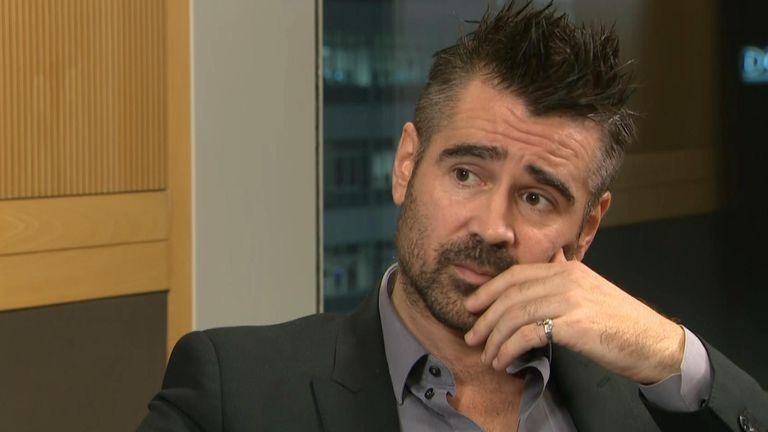 Actor Colin Farrell has said a hard border between Northern Ireland the Republic of Ireland must be avoided 'at all costs'.