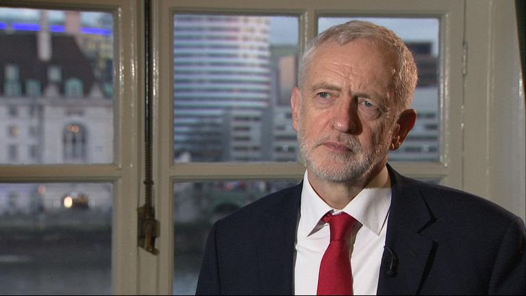 Labour leader Jeremy Corbyn said he had held 'serious' talks with the prime minister over the Brexit negotiations.
