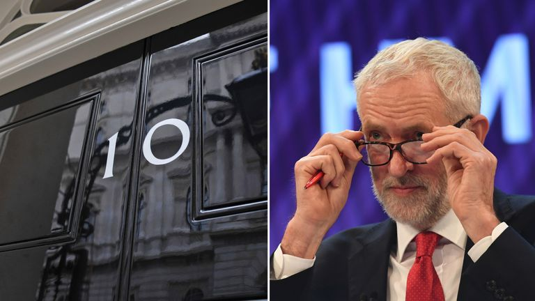 Jeremy Corbyn said a no confidence vote would come 'soon'