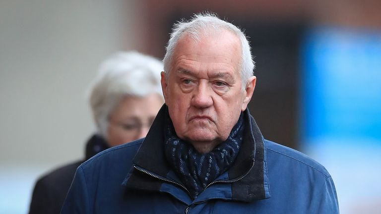 David Duckenfield denies the gross negligence manslaughter of 95 Liverpool fans