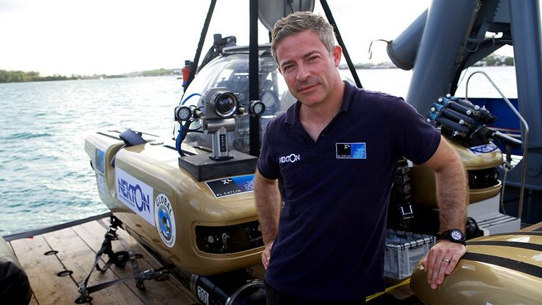 Nekton mission director Oliver Steeds says humankind will make its next 'giant leap'