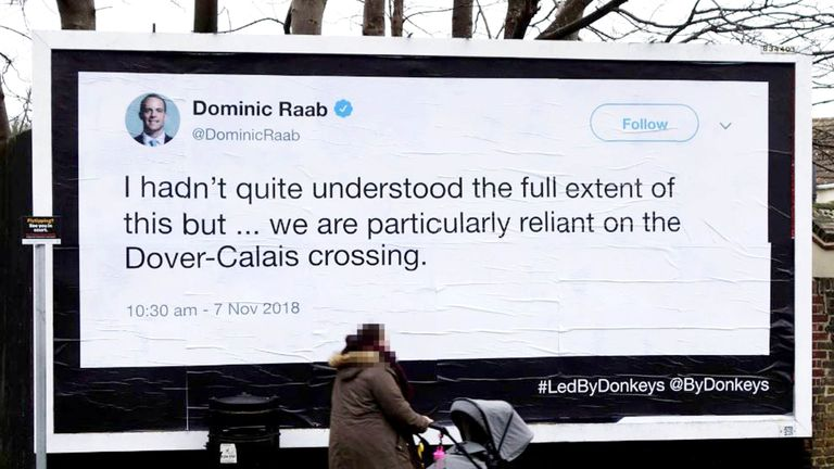 Dominic Raab didn't realise how important the Channel crossing was