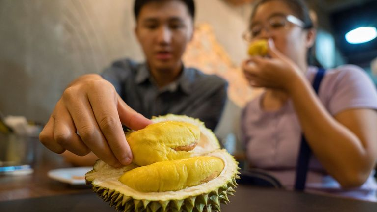 Durian fruit is a delicacy but known for its pungent smell