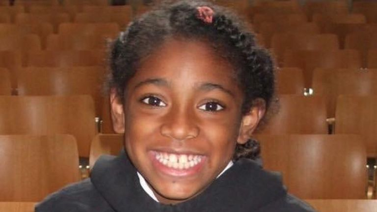 Undated family handout photo issued by Hodge Jones & Allen LLP of Ella Kissi-Debrah, whose death was linked to unlawful levels of air pollution