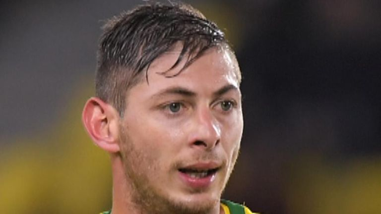 Emiliano Sala went missing when his plane disappeared