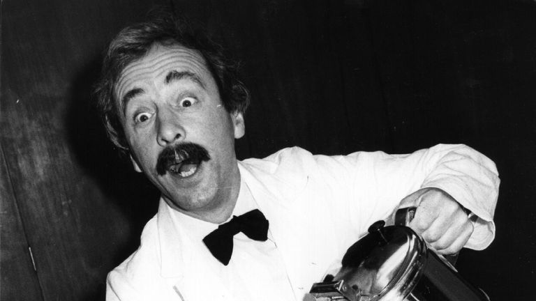The world's worst waiter: Manuel from TV's Fawlty Towers