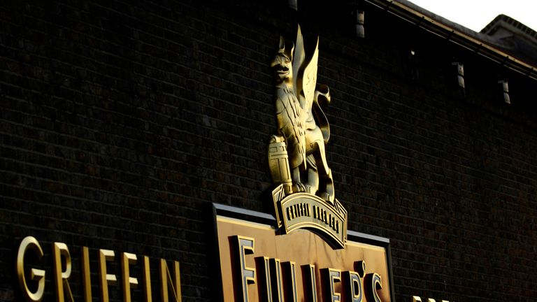The sale includes the Griffin Brewery in Chiswick, where the company was founded in 1845