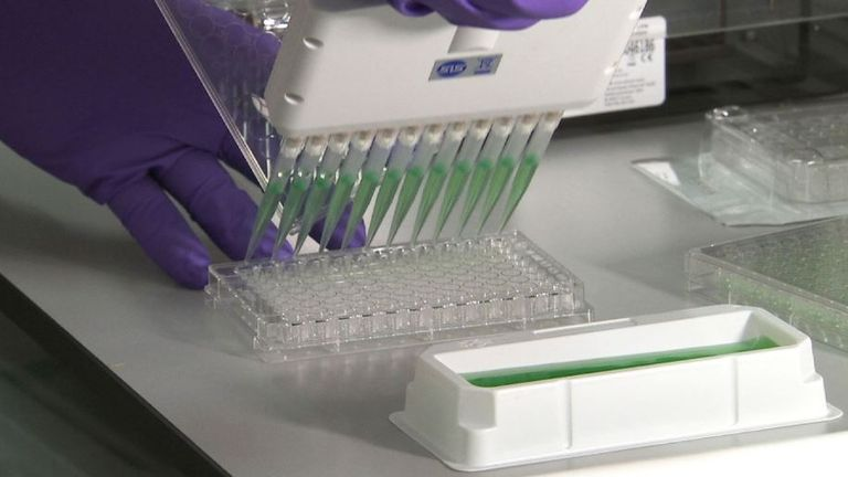 The data from the genomes is being stored both to benefit the 85,000 patients