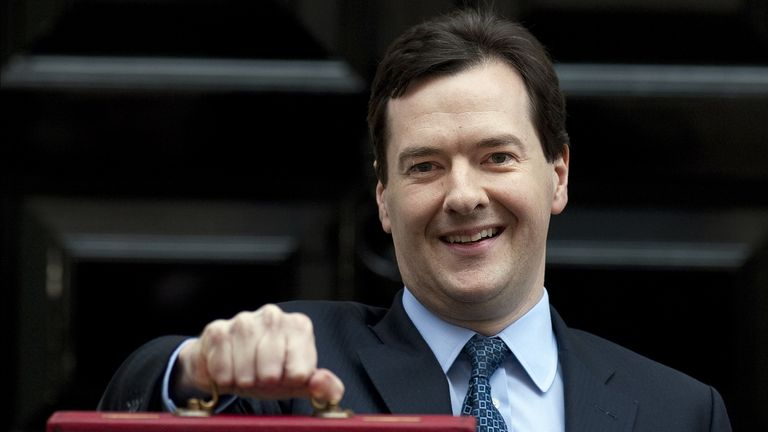 Austerity - according to George Osborne's plans - had only a few years left to run
