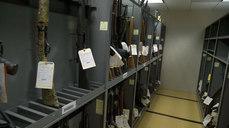 Homemade 'ghost guns' in US falling into criminals' hands