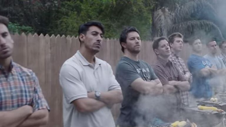 The advert has split opinion among viewers. Pic: Gillette
