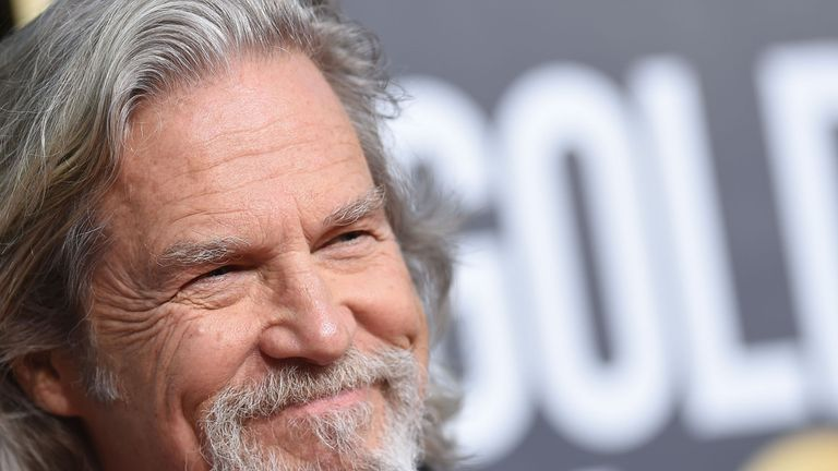 Jeff Bridges at the Golden Globes 2019