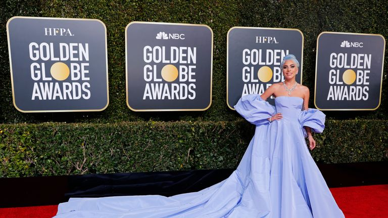 Golden Globe winners walk the red carpet