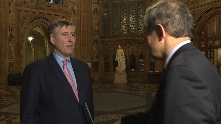 Sir Graham Brady said his amendment would allow the prime minister to renegotiate the Brexit deal from a stronger position.