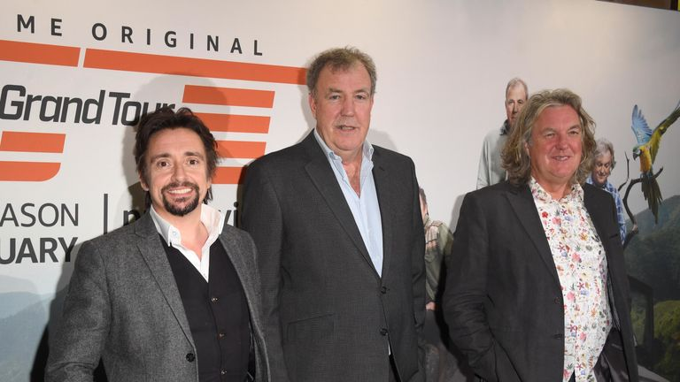The Grand Tour: Richard Hammond, Jeremy Clarkson, James May