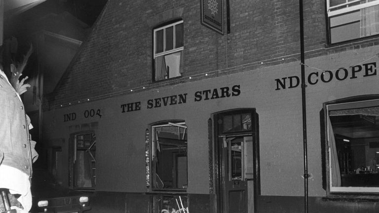 No one was seriously injured in at The Seven Stars pub
