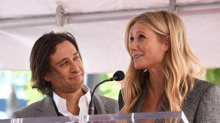 Gwyneth Paltrow and husband Brad Falchuk