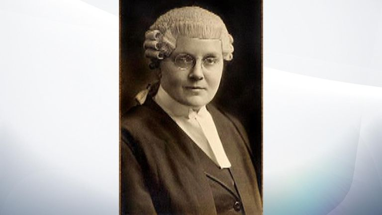 The first woman to practise as a barrister was Helena Normanton in 1919