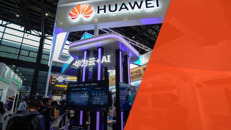 Huawei is one world's largest technology firms