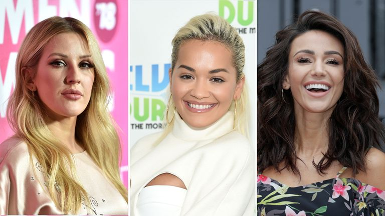 Ellie Goulding, Rita Ora and Michelle Keegan have committed to social media transparency