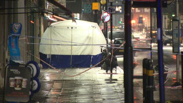 The victim has not yet been identified