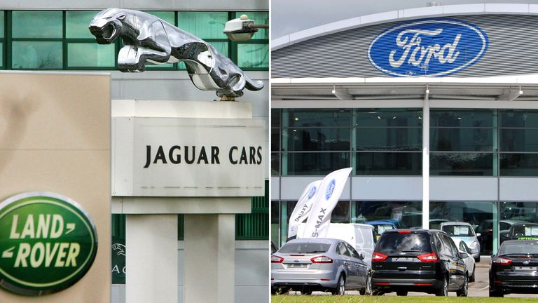 Jaguar Landrover and Ford