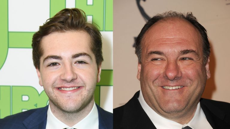 Michael Gandolfini/ James Gandolfini - Michael is to play a young Tony Soprano in Sopranos prequel The Many Saints Of Newark
