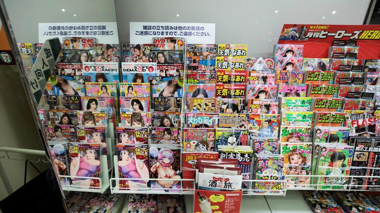 Japan porn magazines