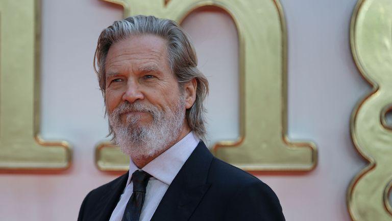 Jeff Bridges at a Kingsman: Golden Circle premiere