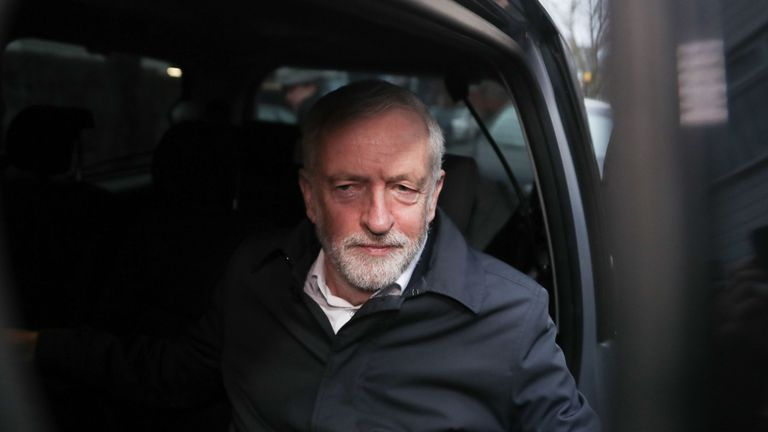 Jeremy Corbyn set the motion to the House when the deal was voted down