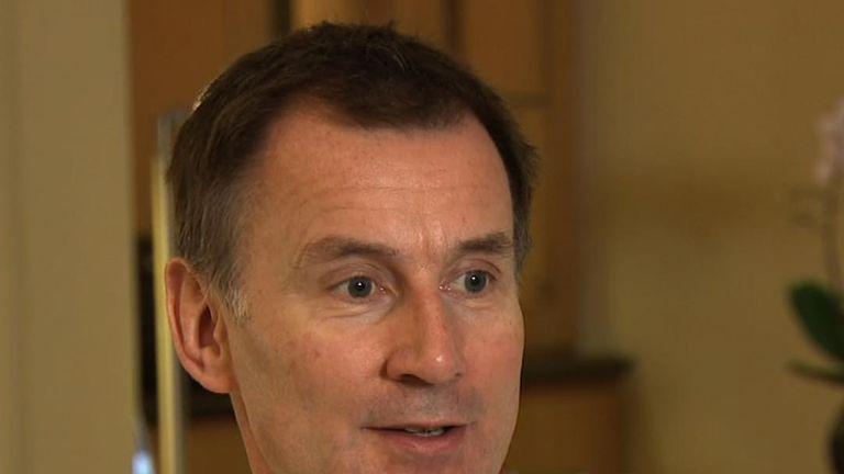 Jeremy Hunt says there will be no lasting peace in Syria under the current regime