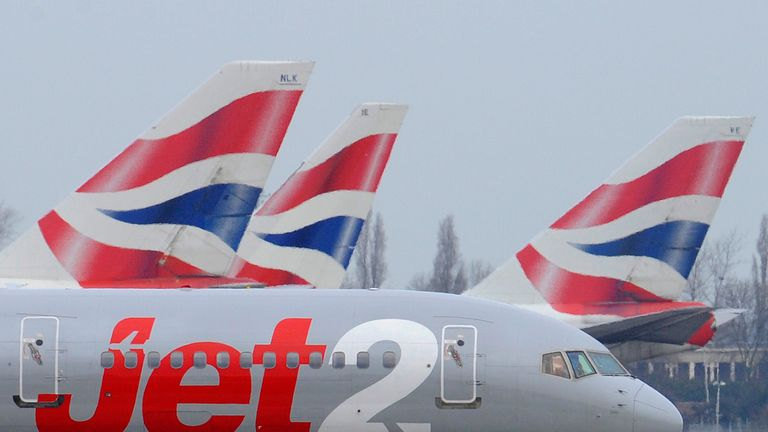 Jet2 was among the best-rated airlines in the  poll