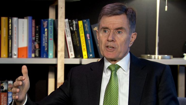 The former head of MI6 says a no deal Brexit would damage Britain's security.