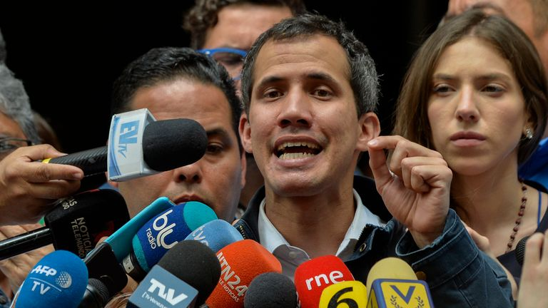 Juan Guaido wants those in 'every corner of Venezuela' to demonstrate