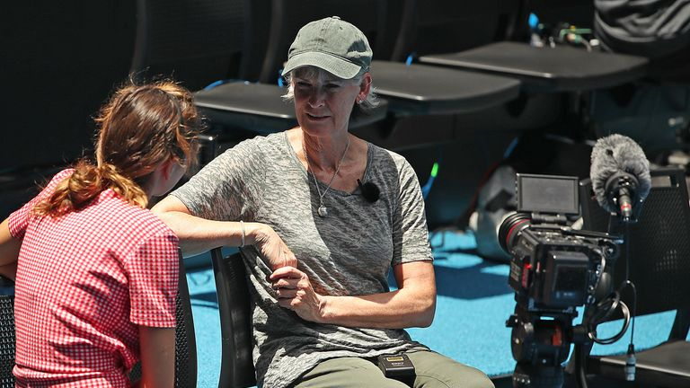 Judy Murray was there to watch her youngest son