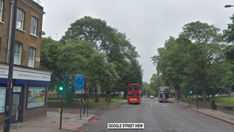 Junction of Brixton Hill and New Park Road