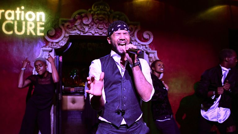 Smollett is also a successful singer and song-writer